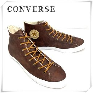 Converse Chuck Taylor Leather High Top Sneakers